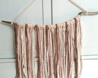 Driftwood wall tapestry wall hanging