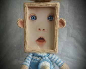 Little baby boy photo frame