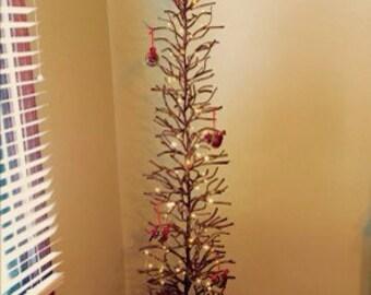 """Custom 70"""" Twig Tree"""