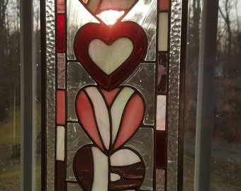 Stained Glass, All You Need Is LOVE...Hearts & Valentine...
