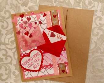 Sending Some Love Your Way Valentines card