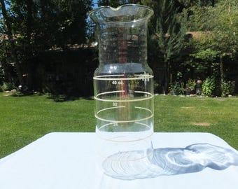 Extra Tall Pyrex Laboratory Beaker/Lab Flask/ 40 ounces, 1 1/2 quart, 150 ML