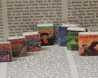Harry Potter Keychain: Pick Any Book from the Series