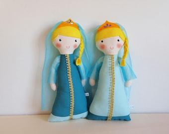 Rag doll: Turquoise Princess