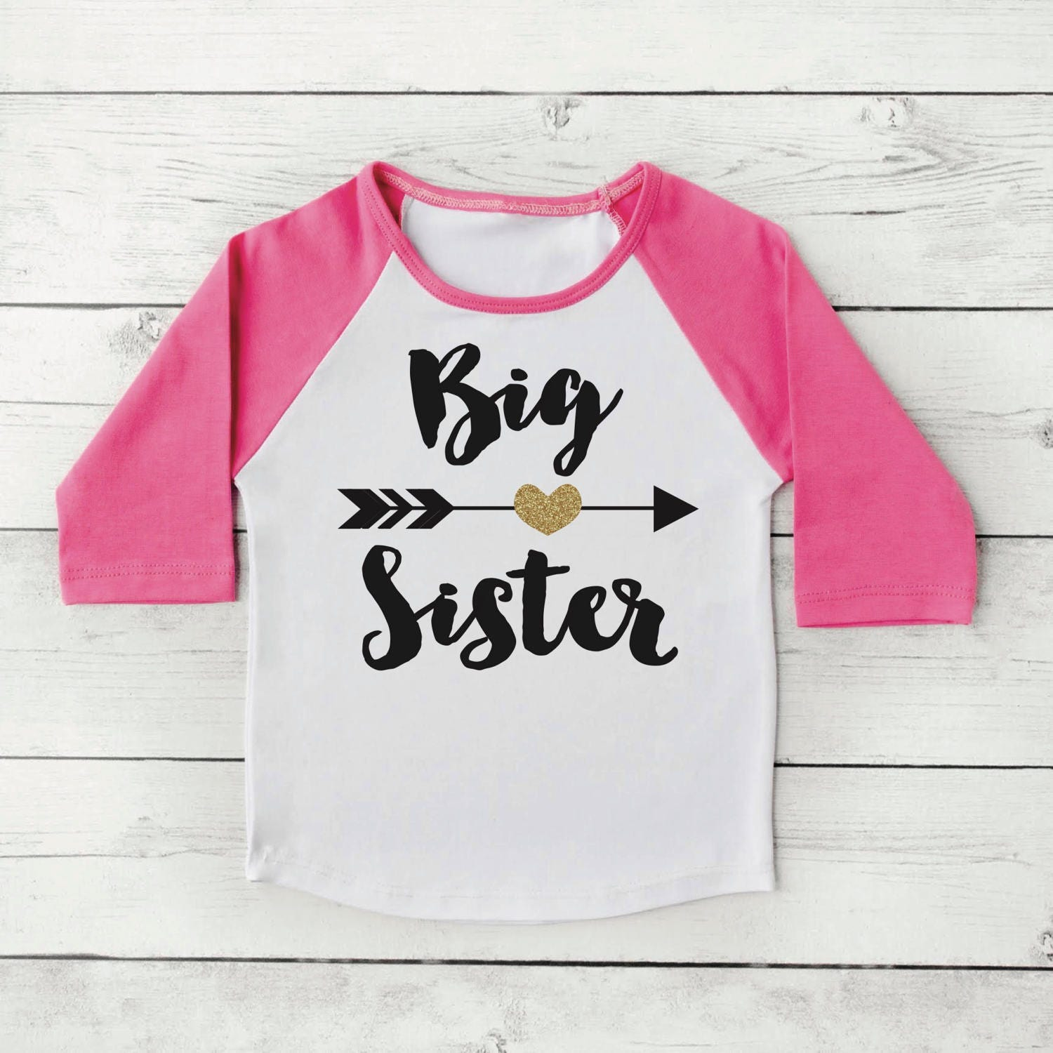 big sister shirt baby announcement shirt girl sibling shirts. Black Bedroom Furniture Sets. Home Design Ideas