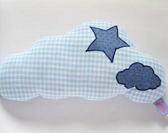 Blue cushion cloud