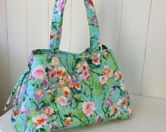 Handbag, Floral, Bags and Purses, Shoulder Bag, Evening Bag, Shoulder Bag, Made in Australia, Gift For Her