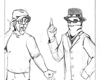 Original Artwork - New Comic Day issue #308, Panel #4