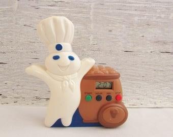 Vintage Pillsbury Doughboy Kitchen Timer - Tested