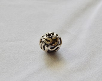 12mm Sterling Silver Bali Beads (1pcs)