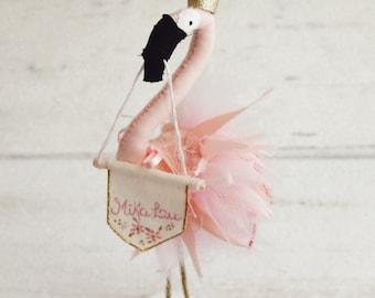 Flamingo Cake Topper - Pink Flamingo Cake Topper - Pink Flamingo Bird