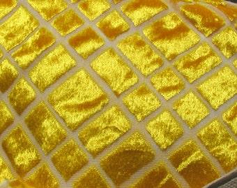 GOLDEN Yellow Valour type Fabric