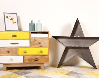 tiroir en bois etsy. Black Bedroom Furniture Sets. Home Design Ideas