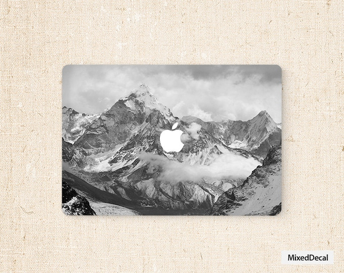 Snowvy Macbook stickers Air decal macbook pro front decals cover skins mac decals laptop decals sticker Apple Mac Decal skins