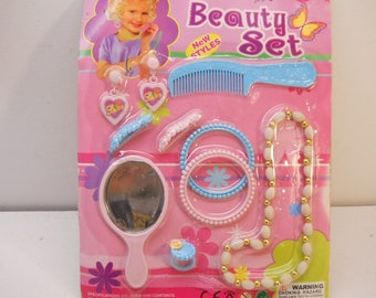 Beauty Set For girls, Jewelry Toy Play set Pretend Play  #Ty30