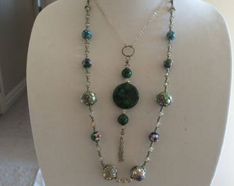Malachite Magic Necklace