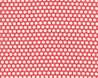 Basics - Bliss Dot Red by Bonnie and Camille for Moda, 1/2 yard, 55023 31