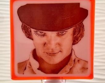 Alex DeLarge A Clockwork Orange Night Light Fused Glass