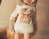 Deer Me - Hoodie Sweater for Ever After doll