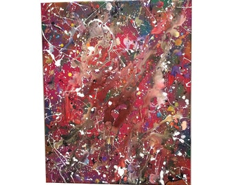 Painting CRAMD Art Real Acrylic Beautiful Mixed Media Cool Canvas Awesome Spray Paint Color Artistic Home Decor Furnishing Colorful Gift
