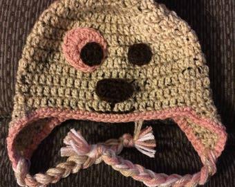 6 to 12 months Puppy Hat