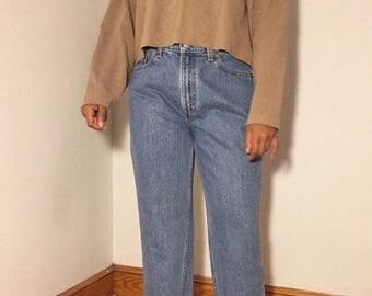 Vintage Levi 512 Medium Wash High Waist Jeans