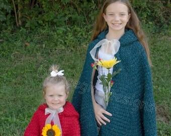 Cape, Little Red Riding Hood or Princess Cloak