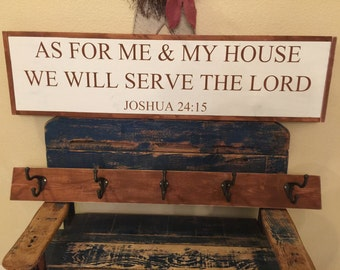 As for Me and My House We Will Serve the Lord - STENCIL ONLY