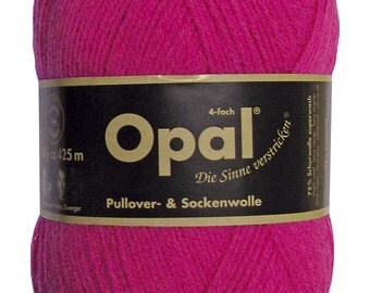 Opal -  Uni Pink 5194 - 4 ply Sock Yarn