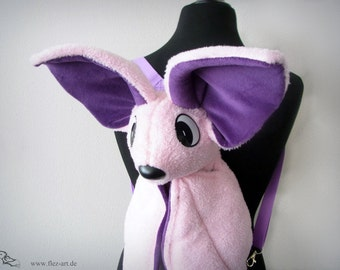 Batty Back bag  lightpink-violett