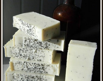 Black Licorice handmade natural soap