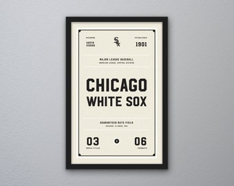 "Chicago White Sox ""Day & Night"" Print"