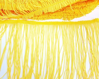 15cm Fringing Trim - 5 Colours