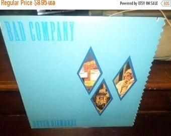 Save 30% Today Vintage 1982 LP Record Bad Company Rough Diamonds Excellent Condition 505/506