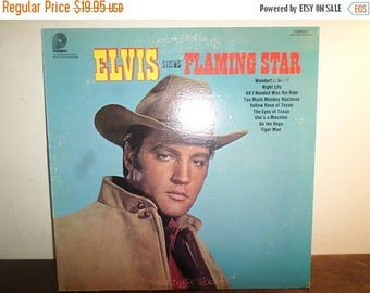 Save 30% Today Vintage 1969 LP Record Elvis Sings Flaming Star RCA Camden Records CAS-2304 Near Mint Condition 10711