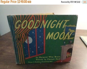 Save 25% Now Rare 1947 First Edition Children's Book Goodnight Moon Margaret Wise Brown Harper & Brothers Plus Extra Copy