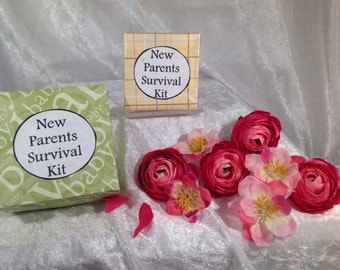 New Parent Survival kit ~ New Baby, Baby Girl, Baby Boy