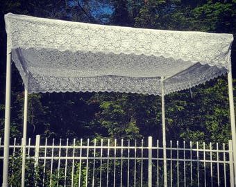 Wedding Chuppah Canopy Poles -Cloth Tapestry Bridal Huppah Decor Marriage Covering Bride Groom Traditional Jewish Design Wedding Accessories