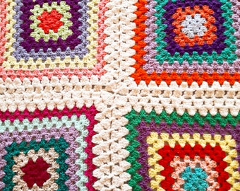 Wool blanket, boho chic