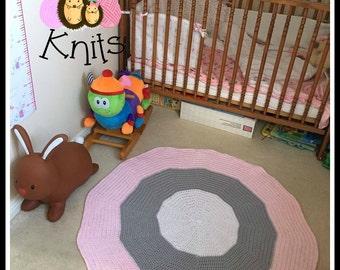 Round Crochet Rug/Throw, Custom orders only!