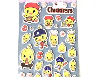 Chickirars Sticker Sheet
