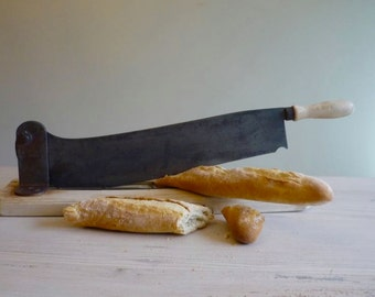 French bread cutter, vintage bread knife, baguette cutter, French bread knife, bread slicer