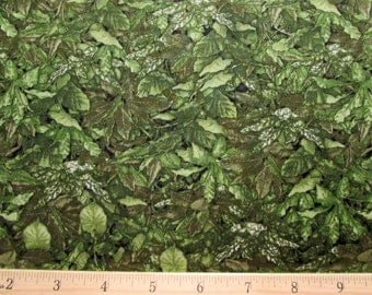 Danscapes Naturals Leaves 2 Fabric From RJR By the Yard