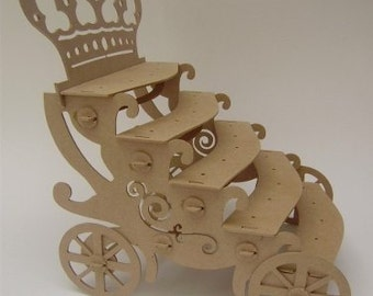 crown carriage cakepop stand