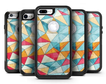 Triangular Geometric Pattern - OtterBox Case Skin-Kit for the iPhone, Galaxy & More