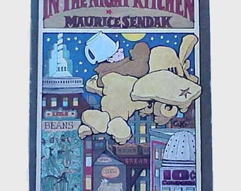 In The Night Kitchen by Maurice Sendak 1st Edition 1970 Children's Picture Book