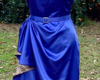 1950's bombshell wiggle party dress