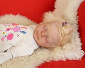 Reborn baby girl Angelica - Heather kit by Donna Rubert