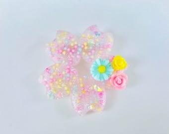 Pastel Flower Sakura Brooch