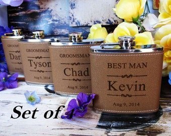 Father of the Bride Gift - Bride's Father Gift - Men's Gift - Wedding Flask - Rehearsal Gift - Dad Wedding Gift - Bridal Party Gift